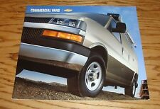 Original 2004 Chevrolet Commercial Van Deluxe Sales Brochure 04 Chevy Astro