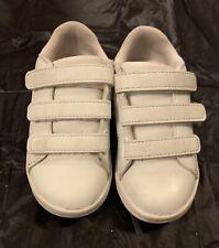 Girls Kids Ralph Lauren Polo White Trainers Size 8