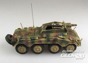 Panzerstahl - Sd.kfz. 234/3 1.Pz.Div.Hungary 1945 Spy Tank 1:72 Finshed Model