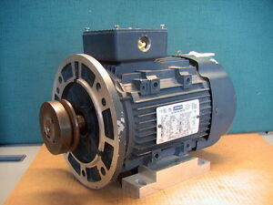"LEESON IEC METRIC 3HP 3-P 230/460 60Hz  C90T34FZ6C FRAME D90LD 3"" PULLEY C-FACE"