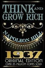 Think and Grow Rich - Original Edition by Napoleon Hill New Paperback Book