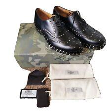 Valentino Garavani Rockstud Oxford Shoes UK 8/ EU42, RRP £1100 Rare find.