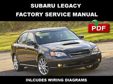 SUBARU 2005 2006 2007 2008 2009 LEGACY ULTIMATE OEM SERVICE REPAIR FSM MANUAL