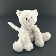 Jellycat Fuddlewuddle Kitty Plush Stuffed Animal Soft Toy Cream 8''