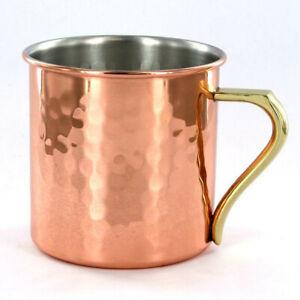 ASAHI CNE-906 Pure Copper Special Mug Cup 360cc Handmade by Japanese Craftsmen