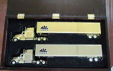 MAC TOOLS GOLD, SILVER INTERNATIONAL CAB DRY VAN 1/64 LIBERTY CLASSICS DIECAST