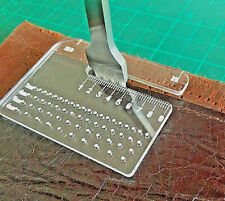 Acrylic Leather Sewing  Spacing And Corner Template