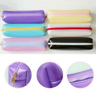 Clear Student Plastic Pen Pencil Case Travel Makeup Cosmetic Bag Stationery US
