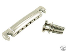 Kluson Kstopal-C Lightweight Aluminum Stop Tailpiece Chrome Us Guitars Only