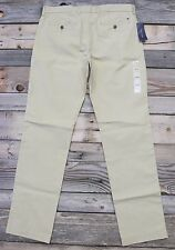Tommy Hilfiger Mens Mallet Khaki Chino Casual Tailored Fit Pants Size 32 x 34