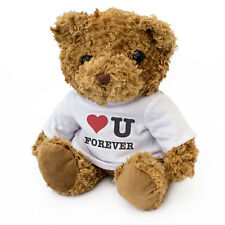 More details for new - i love you forever - teddy bear - cute cuddly - gift present valentine