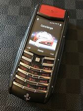 Genuine Vertu Ferrari Ascent Ti Nero Limited Edition $11,300 MSRP Super RARE