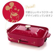 BRUNO x Disney  Compact hot plate With Takoyaki plate New