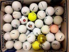 100 Used Assorted Golf Balls AAA-AAAA  1 Dozen (12) Titleist Prov-1 icluded