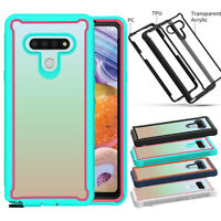 For LG Stylo 6 TPU Case Shockproof Armor Hybrid Ultra Thin Rugged Phone Cover