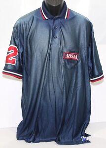 VTG AHSAA Alabama High School Athletic Association Umpire Ref PoloShirt Mens 2XL