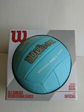 Outdoor Soft Play Volleyball Ball Beach Game Training Official Weight Size Blue