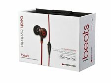 Dre Beats iBeats Headphones W Control Talk Monster In-Ear Noise Isolation Black