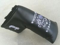 WHISTLING STRAITS  BLACK EMBROIDERED  FACE LOGO & SHEEP  BLADE  PUTTER COVER