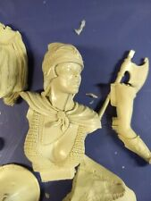 1/8 Scale Bodicea Woman Warrior Bust Resin Model Kit