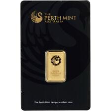 5 gram Gold Bar - Perth Mint - 99.99 Fine in Assay