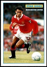 Soccer Stars Player Postcards (1993) Ryan Giggs (Manchester United)