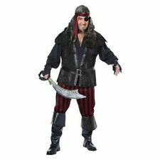 Ruthless Rogue Pirate Costume Plus Size