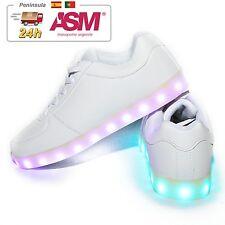 Zapatillas LED Zapatillas con luces Niños Niña Carga USB 7 Colores Envio ASM 24H
