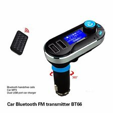 Reproductor Transmisor MP3 FM Mechero Coche Radio Volumen SD USB Led LCD