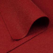 Woolfelt Rustic Crimson ~ 22cm x 90cm / Christmas heart quilting felt fabric
