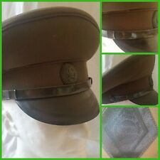 Russia Soviet  officer  field  Visor Hat sz 58