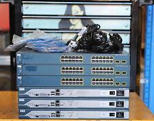 CISCO CCNA CCNP CCIE Lab w/ 3 x Cisco 2811 IOS 15 , 3 x WS-C3560-24PS-S