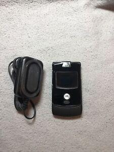 Motorola RAZR V3 - Black Mobile Phone - NEW OLD STOCK - GENUINE
