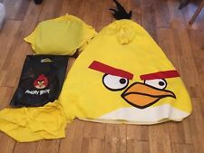 Angry Birds Yellow Bird Costume  + 2 padding aprons see description