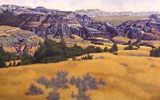 "Gordon Mortensen ""September In The Park"" Signed & Numbered Original Woodcut Art"