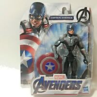 AVENGERS ENDGAME MCU CAPTAIN AMERICA 6in Action Figure w/ Shield IN STOCK NEW
