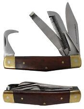 Set of 2 Horse Farrier Tool Hoof Comb Pick Grooming Multi Purpose Knife 984111