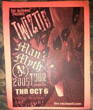 Twiztid * Rare Concert Flyer Handbill * Springfield, MO 10/6/2005 Version #1