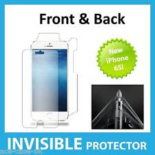 NEW Apple iPhone 6S INVISIBLE Screen Protector Shield Full Skin FRONT AND BACK