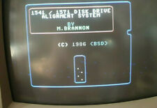 """TEST HEAD ALLIGN FOR C64 Floppy 5,25"""" Disk Drive 1541 1571 for Commodore 64 128"""