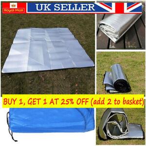EVA Camping Mat Aluminum Foil Folding Sleeping Mats Picnic Beach Mattress 4 Size