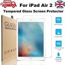 New Ultra Slim Tempered Glass Screen Protector for iPad Air 2 (A1566/A1567)