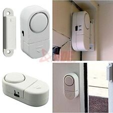 4x Wireless Home Security Door Window Entry Burglar Alarm System Magnetic Sensor