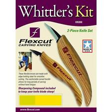 Whittler's Kit Flexcut Tool KN300 polishing compound & 2 detailing knives