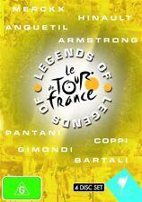Legends Of The Tour De France (DVD, 2009, 4-Disc Set) - Region 4