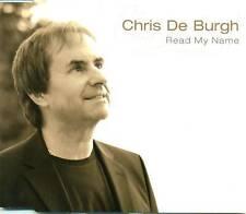 CHRIS DE BURGH READ MY NAME 1 TRACK PROMO CD D2160