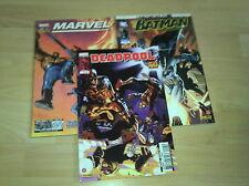 BATMAN UNIVERSE 8 + UNIVERSE EXTRA 2  BATMAN UNIVERSE LE RETOUR 10 + SHOW CASE 2
