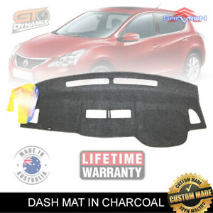 DASH MAT Nissan Tiida ST ST-L Ti Q C11 Sedan & Hatch 1/2006-2015 DM1000 CHARCOAL