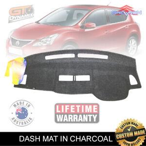 DASH MAT Nissan Tiida ST ST-L Ti Q C11 Sedan & Hatch 1/2006-2015 DM1000 CHARCOAL