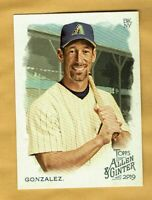 2019 Topps Allen & Ginter  Luis Gonzalez #6 Arizona Diamondbacks